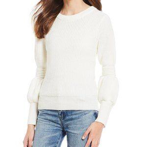 Chelsea & Violet Bishop Sleeve Sweater .NWT!